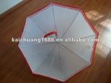 ladies auto open straight lace umbrella