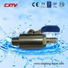Tubing Ball Valve Thread Gas Valve