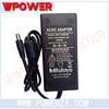 AC/DC Power Adapter 12V 4A DC connector 5.5x 2.1mm C6 C8 C14 coupler with FCC CE SAA KCC UL RoHS certification