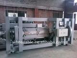 5' heavy duty rotary veneer peeling machine with gear box mechnical control
