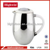 China Manufacturer Double Wall Press Pot Coffee Maker