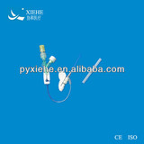 disposable sterile medical cannulation y-type i.v. catheter