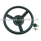 toy steering wheel, steering wheel, swing, playground accessory,free spinning wheel