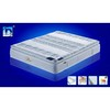 luxury7-zones pocket spring mattress with memory foam,latex,aloe fabri
