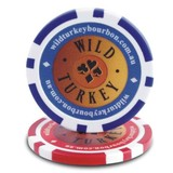 casino poker chips with siticker