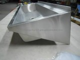 stainless steel long wash basin 1200mm