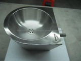 stainless steel semicircle wash basin prison style