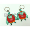 USA Customize 3D pvc key ring