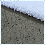 100% Polyester Bonding Suede Fabric For Sofa