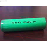 Ni-Zn rechargeable battery AA1500