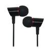 Wired metal earphones