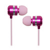 Wired metal earphones