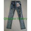 Compare 2014 new long pants women's blue denim jeans casual slim fi