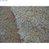 knitted suede bonded  lamb fur fabric