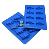 cute shapes silicone ice cube tray