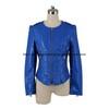 Ladies' Fashion Slim Fit PU Jacket