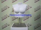Torso mannequin without hand and waist