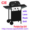 Grills Gas BBQ with lava rock grill