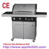 4 Burner Gas Barbecue Grill