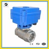 2-way SS304 DN15 to DN25 motorised valve for Water,Irrigation system