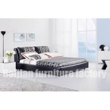 B136 China Bed ,Fabric Bed,Faux Leather Bed,Bed Factory