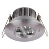 6063Aluminum LED Down Light, Dimmable LED Indoor Light