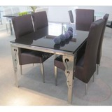 Dining table and chair suit