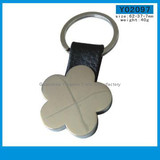 Yingmei Y02097 Hot Blank Zinc Alloy Keychain Flower