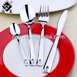 Korean Christmas Mirror Polish Stainless Steel Cutlery Sets