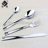 Manufacturer Sliver Plated Mirror Polish Stainless Steel Cutlery Sets