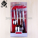 Newest 18/0 Hot-sale Stainless Steel Hanging Cutlery Set