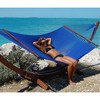 caribbean jumbo hammock size:200x140 YH-E09-BLU