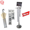 Economic indoor steel umbrella stand for public place