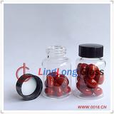 Medical glass bottle, screw glass bottle
