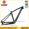 2013 fashionable carbon frame inner cable 29er bike frame mtb