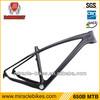 2014 Miracle Bike carbon frame 650b 142x12 rear axle,27.5er carbon mtb frame