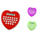 Heart shape 8 digit calculator gift calculator