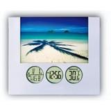 Photo Frame Clock,LCD Display Clock,Desk Clock