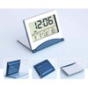Multifunction foldable travel digital alarm clock