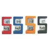 S shape clock digital clock 5 shape clock