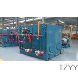 Hydraulic power unit of hoist