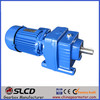 R series foot mounted helical industrial gearbox
