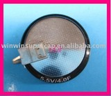 4F/5.5V V type terminal gold capacitor-- one stop purchase offered