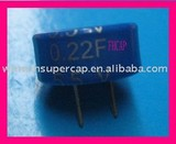 0.22F/5.5V C terminal gold capacitor