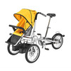Mother and baby stroller bike