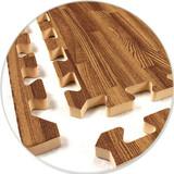Wood Grain Foam Floor