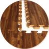 """Wood Grain Foam Floor 24'X24"""""""