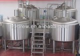 Micro beer brewing equipment with different capacity for sale