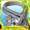 good quality of stainless steel metal hose with flange