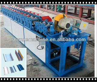 Slat Strip Rolling Shutter Door Forming Machine with fly saw cutting
